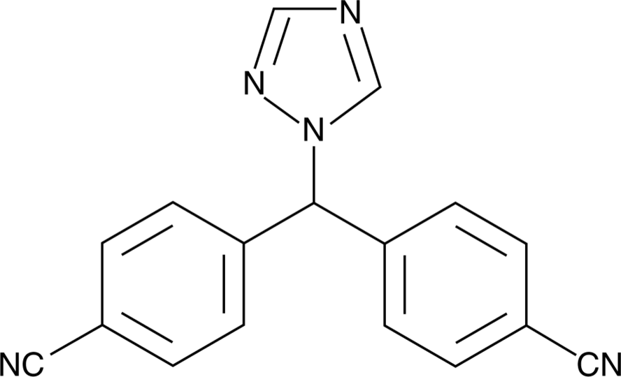 Letrozole (112809-51-5)   Cayman Chemical