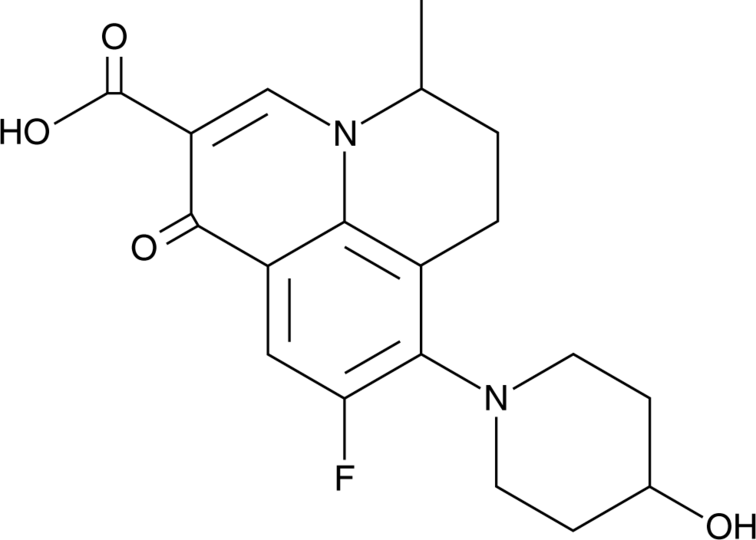 Nadifloxacin (124858-35-1) | Cayman Chemical